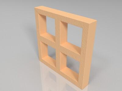 童年山治监狱-3d打印模型