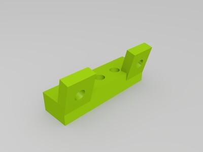 30毫米风扇支架-3d打印模型