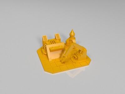 红警2苏俄全部建筑模型-3d打印模型