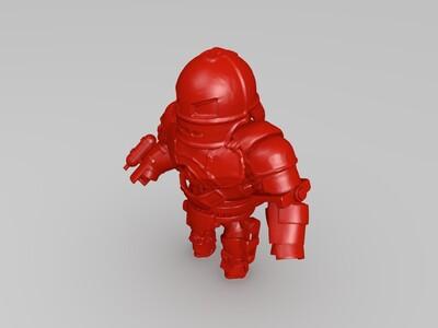 初代钢铁侠-3d打印模型