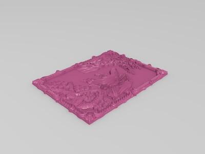 大鹏展翅-3d打印模型