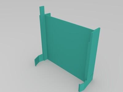 键盘托盘-3d打印模型