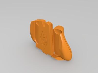 任天堂 switch 手柄托上古卷轴-3d打印模型