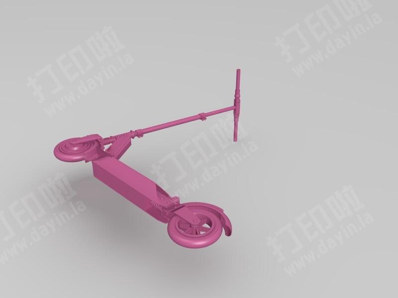 滑板电动车-3d打印模型