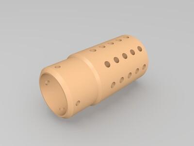 锦明8上旋火帽-3d打印模型