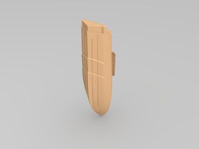 钓鱼船-3d打印模型