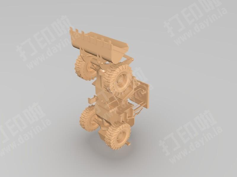 工程装载车-3d打印模型