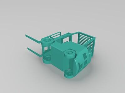 叉车-3d打印模型