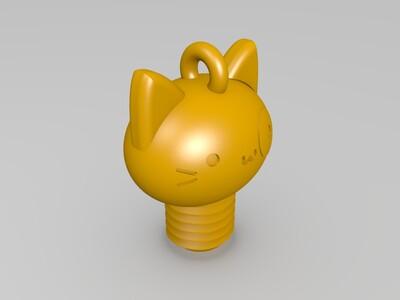 冰淇淋猫-3d打印模型