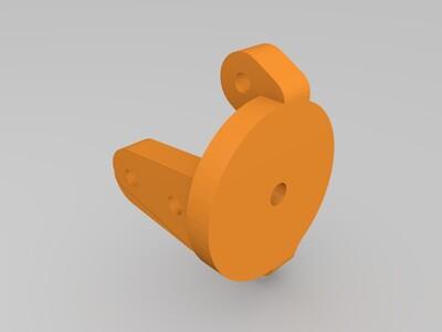 1/24卡车前桥-3d打印模型