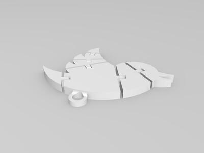 小鸟-3d打印模型