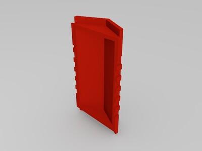 魔兽世界人族兵营-3d打印模型