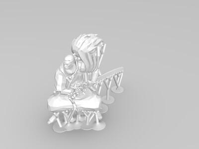 LOL人物亚索-3d打印模型