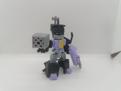 变形金刚 Q版  炸弹 -3d打印模型