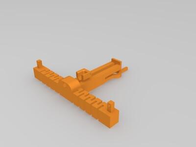 弩、投石器-3d打印模型