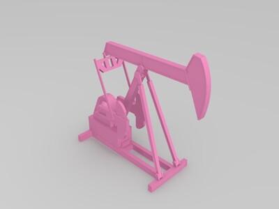 抽油机-3d打印模型