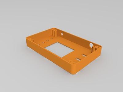 DOS138示波器外壳-3d打印模型