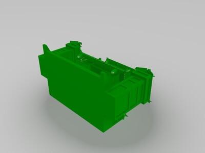 土地庙-3d打印模型