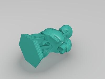 复联-钢铁侠胸像-3d打印模型