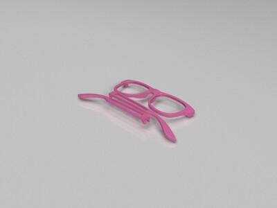 眼镜-3d打印模型