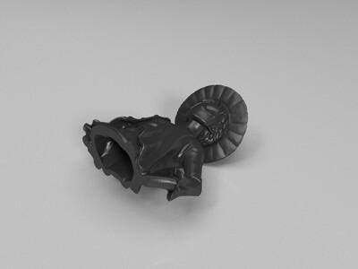 路飞(空心拆分版)-3d打印模型