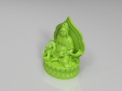 黄财神-3d打印模型
