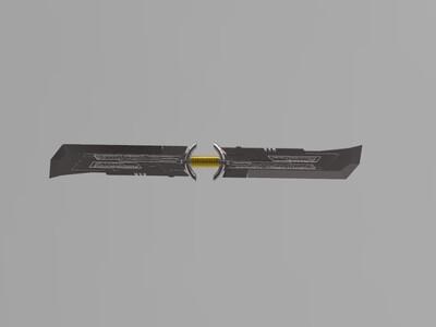 灭霸 大刀-3d打印模型