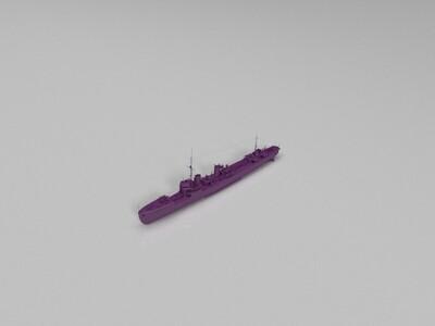 【驱逐】(Kamikaze)神风-3d打印模型