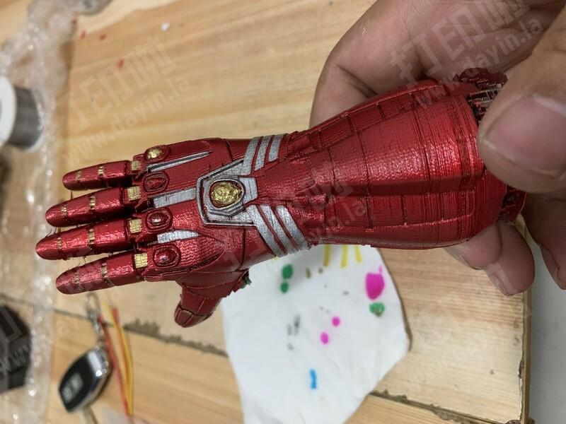 钢铁侠 无限手套-3d打印模型