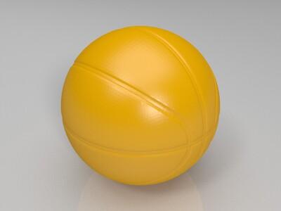 篮球-3d打印模型