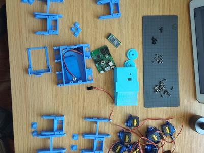 四组机器人-3d打印模型