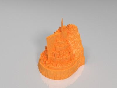 米纳斯提力斯-3d打印模型