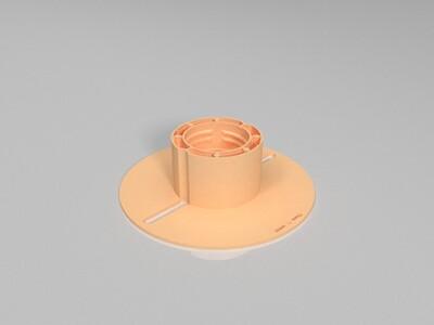 3D打印耗材线卷-3d打印模型