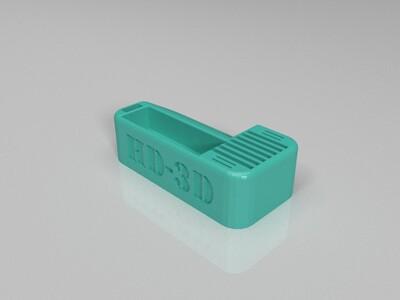 存储卡盒-3d打印模型