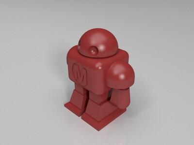 Maker Faire机器人测试-3d打印模型