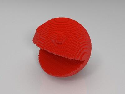 吃豆人-3d打印模型