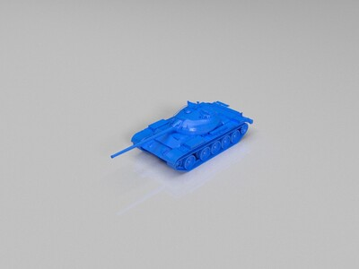 【USSR】T-54_ltwt-3d打印模型