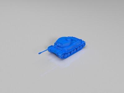 【Germany】Tiger_(P)-3d打印模型