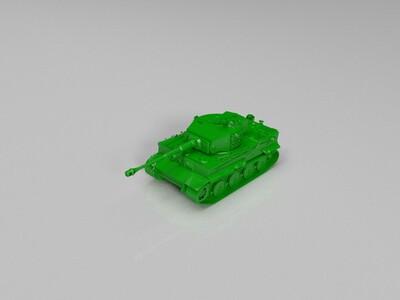 【Germany】Tiger_I_L_56-3d打印模型
