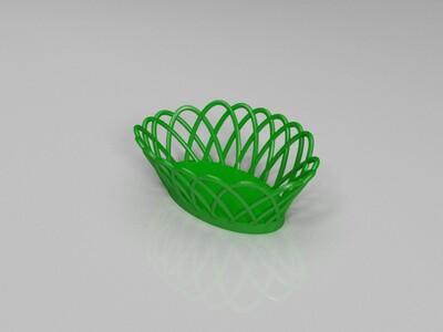 水果篮-3d打印模型