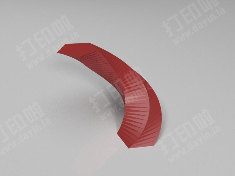 正多边形(圆)的线性拉伸-3d打印模型