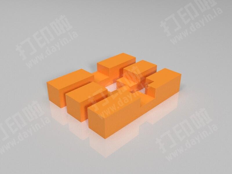 孔明锁-3d打印模型