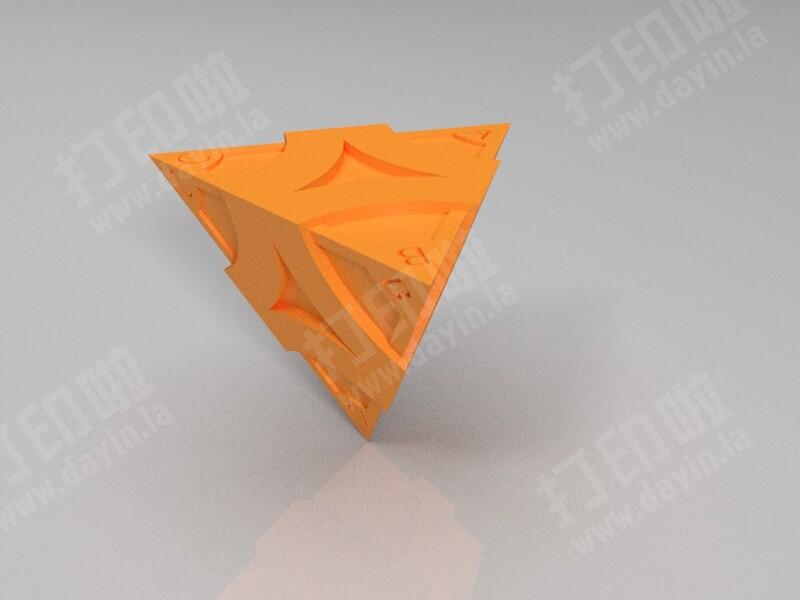 第五人格,ABCD四面骰子,专治选择困难-3d打印模型