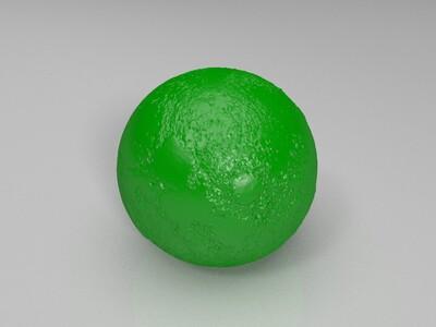 月球灯-3d打印模型