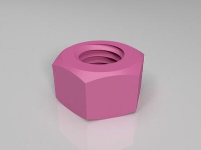 螺丝螺母-3d打印模型
