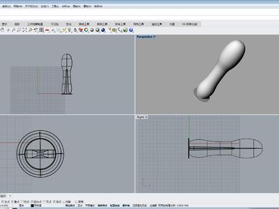 锉刀手柄-3d打印模型