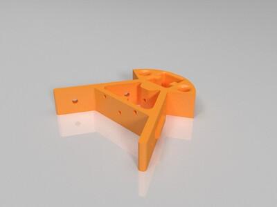 三角洲结构架-3d打印模型