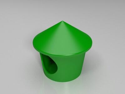 小宠物房间-3d打印模型
