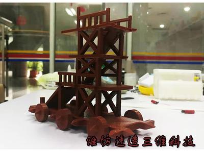 古代攻城云梯-3d打印模型