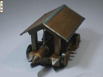 破门冲车-3d打印模型